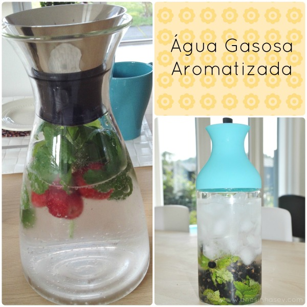 Água Gasosa Aromatizada - Anesinha Sev