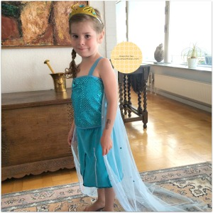 Elsa Dress Anesinha