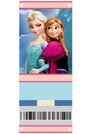 Convite de aniversário Frozen em branco - anesinhasev.com
